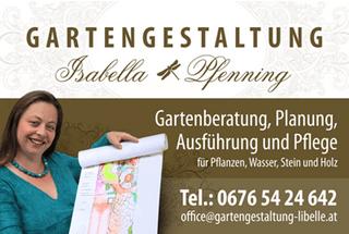 Gartengestaltung Libelle - Isabella Pfenning - Gartenberatung in Wien und Niederösterreich