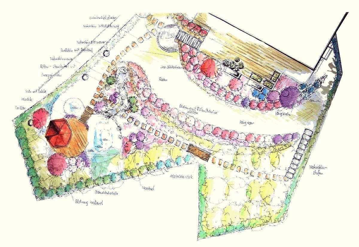 Gartengestaltung Libelle - Isabella Pfenning - Gartengestaltung Wien
